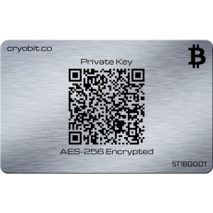 Cryo Card 2014 - 2 Side Back - Bitcoin