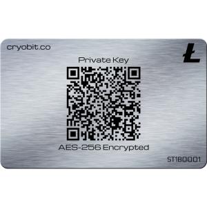 Tarjeta de Cryo 2014 - 2 Parte Trasera - Litecoin